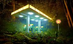 Gas Shell David LaChapelle