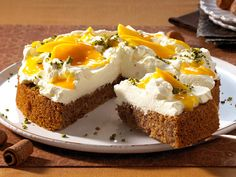 Nuss-Torte mit Mangosahne - so geht's - nuss-torte-2  Rezept