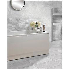Wickes Mayfield Grey Ceramic Tile 500 X 300mm