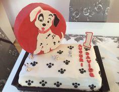 La carica dei 101- torta primo compleanno