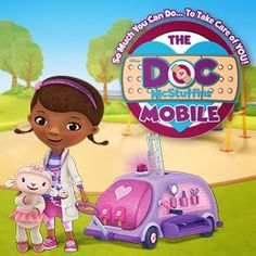 The Doc McStuffins Doc Mobile Tour Is Now Live! See if she's coming to your city #DocMcStuffins #DocTour #Disney