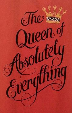 thats always been my nickname around my family. my grandmother calls me the  queen or queenie~kim