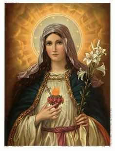 Home Decor Jesus Christ Virgin Mary Holding The Jesus Art Decor Painting Print Giclee Art Print On Canvas Ready to Frame 4 Religious Images, Religious Icons, Religious Art, Miséricorde Divine, Divine Mother, Blessed Mother Mary, Blessed Virgin Mary, Queen Mother, Immaculée Conception