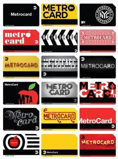 the metrocard project / http://www.melaniechernock.com/metrocardproject/gallery/