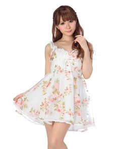 Liz Lisa Original Spring Floral Dress #LizLisa #SpringDress