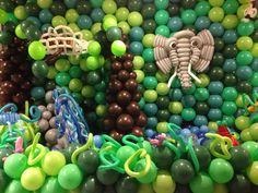 Een jungle aan ballonnen. Erg leuke reacties op gekregen. Het team van Balloonzone heeft z'n best weer gedaan! Fruit