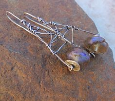 Violet Blue Basha Beads and Handmade Fine by deserttalismans