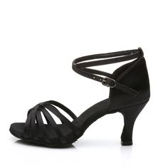 f6762014a Best Selling Ladies Girl's Sandals High Heel Satin/Leatherette Buckle Latin/ Ballroom/Salsa Dance Shoes For Women Wholesale