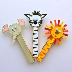 animal pegs by katescreativespace