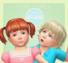 Sims 4 | cosmicplumbob: Screaming Mustard's Cute Blush for Toddlers #face detail makeup