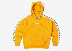 ONLINE :: adidas Originals .... View it here --> http://www.thechimpstore.com/products/adidas-originals-tnt-trefoil-tape-pullover-hoody-yellow?utm_campaign=social_autopilot&utm_source=pin&utm_medium=pin