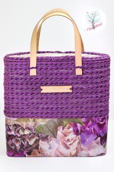 Crochet flower bag www.dehaakfabriek.nl