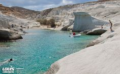 Milos island, the new destination for Louis Cruises