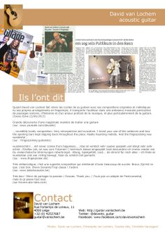 Dossier de presse - page 6 - Impressions