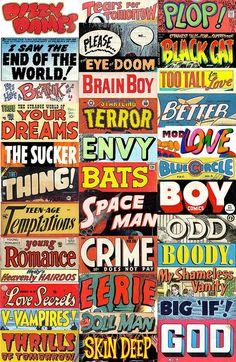 Pulp Poetry stickers by wackystuff