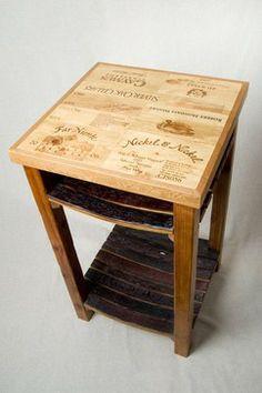 wine crate and barrel stave island bar tables denver by alpine wine alpine wine design outdoor finish wine barrel