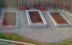 Looking for new ideas for your garden? Check out these raised garden beds built with cinder blocks that you can use in your garden today!