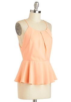 Coral Aboard Top, #ModCloth