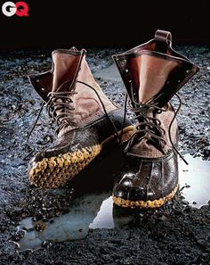 My dad always wore a pair of duck boots in bad weather. I need to get myself a pair now