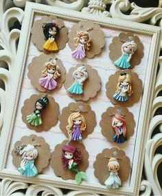 Princesas de Disney.