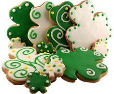 St Patricks Day cookie ideas