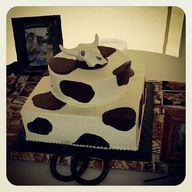 Chocolate cow print...