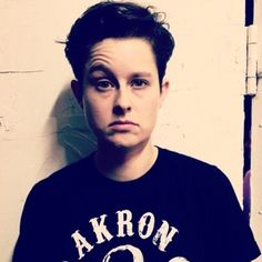 Rhea Butcher Cameron Esposito, Blurred Lines, Butches, Androgynous, Tomboy, Crushes, Celebrities, Babe, Mens Tops