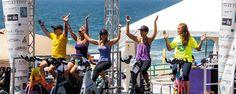 Tour de Pier fundraising event for cancer research at the Manhattan Beach Pier Manhattan Beach Pier, Fundraising Events, Cancer, Sparkle, Tours, Beautiful, Glow