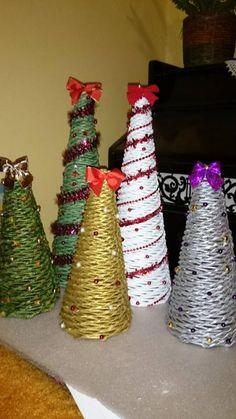 Vianočné stromčeky, paplet, autorka: marka123, | Artmama.sk