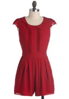 Just got this romper! It's adorable by itself for Summer or with tights and a cardigan now--so cute!