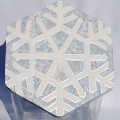 Snowflake Wooden Cookie Jar Lid by MTDesignsCrafts on Etsy, $20.00