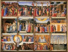 Scenes From the Life of Christ by Fra Angelico (1451)