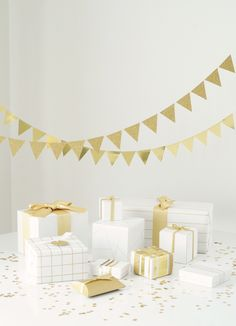 // Garland + wrapping ideas