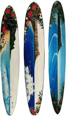So you want to learn to surf? These beginners surfing tips will help you get started. Surfboard Painting, Surfboard Decor, Surf Decor, Torres Rs, Tiki Tattoo, Surf Boards, Condo Decorating, Remo, Wave Art