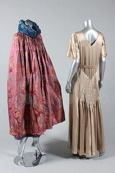 A brocaded silk opera cape, probably Liberty of London, circa 1925-30, 1930's Evening Gown, Kerry Taylor Auctions