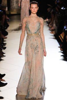 Elie Saab Fall 2012 Couture Fashion Show - Montana Cox