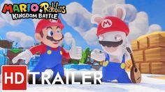 Mario  Rabbids Kingdom Battle - Accolade Launch Trailer | Ubisoft https://youtu.be/a0BgTJPY-Yw