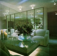 80s Interior Design, Home Interior, Interior Design Living Room, Interior Architecture, Interior And Exterior, Interior Decorating, 1980s Interior, Vintage Architecture, Le Palace