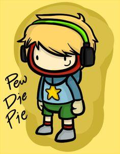 PewDiePie Scribblenauts: Unlimited (Fan Art) by Cramuccino.deviantart.com on @deviantART
