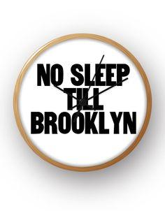 No Sleep Till Brooklyn - Clock