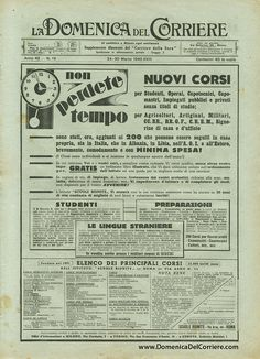 Domenica del Corriere - vintage -