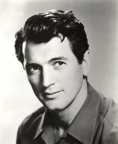 Rock Hudson  I got to meet this man back in the 60's, as gorgeous in person as on the screen.
