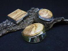 Olivewood pocket mirrors