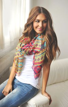 Dottie Couture Boutique - Multi Color Aztec Scarf, $16.00 (http://www.dottiecouture.com/multi-color-aztec-scarf/)