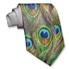 Shop Peacock Feathers Invasion Neck Tie created by BonniePhantasm. Personalize it with photos & text or purchase as is! Peacock Colors, Peacock Theme, Peacock Wedding, Green Peacock, Peacock Bird, Peacock Print, Colorful Feathers, Peacock Feathers, Our Wedding
