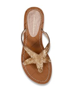 Harlow Leather Flip Flops