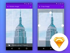 Image Editor - Android iOS Sketch by Eliyas Mohamed