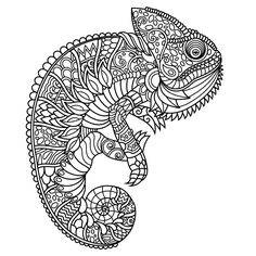 Animal Coloring Pages For Adults Android IOS And Windows Phone