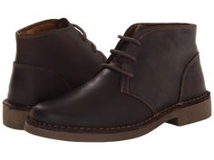 Dockers Tussock Men's Lace up casual Shoes Red Brown