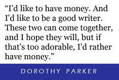 Dorothy Parker, Writer, Writers, Authors